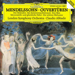 OUVERTURES HEBRIDEN/SOMME LSO/ABBADO Audio CD, MENDELSSOHN-BARTHOLDY, F., CD