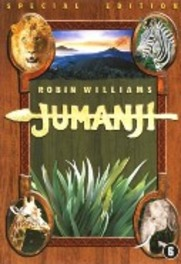 Jumanji, (DVD) PAL/REGION 2-BILINGUAL // W/ ROBIN WILLIAMS (DVD), Van Allsburg, Chris, DVDNL