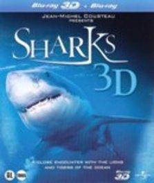 Sharks (3D+2D Blu- ray))
