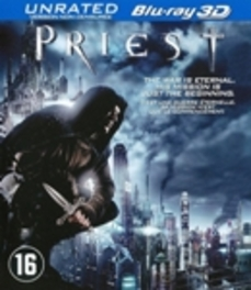 Priest 3D, (Blu-Ray) BILINGUAL // UNRATED VERSION MOVIE, Blu-Ray