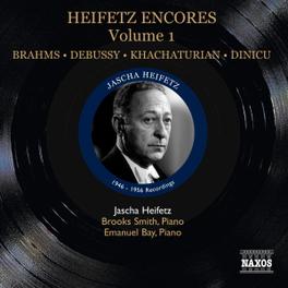 HEIFETZ ENCORES VOL.1 1946-1956 RECORDINGS JASCHA HEIFETZ, CD