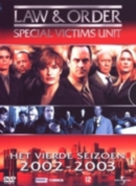 Law & order S.V.U. - Seizoen 4, (DVD) CAST: CHRISTOPHER MELONI/ICE-T/RICHARD BELZER (DVD), TV SERIES, DVDNL