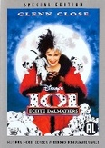 101 echte dalmatiers, (DVD) PAL/REGION 2 // W/GLENN CLOSE/