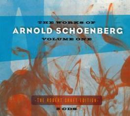 WORKS OF SCHONBERG VOL.1 ROBERT CRAFT A. SCHONBERG, CD
