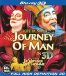Cirque du soleil - Journey of man 3D, (Blu-Ray) REAL3D CIRQUE DU SOLEIL, Blu-Ray