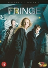 Fringe - Seizoen 1, (DVD) BILINGUAL /CAST: ANNA TORV, JOHN NOBLE TV SERIES, DVDNL