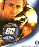 Gone in 60 seconds, (Blu-Ray) BILINGUAL // W/ NICOLAS CAGE & ANGELINA JOLIE