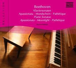 COMPLETE PIANO SONATAS SILVIA CAPOVA L. VAN BEETHOVEN, CD