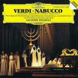 NABUCCO (HIGHLIGHTS) CAPPUCCILLI/DOMINGO/DEUTSCHEN OPER BERLI Audio CD, G. VERDI, CD