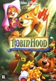 Robin Hood, (DVD) BILINGUAL /CAST: BRIAN BEDFORD, PHIL HARRIS ANIMATION, DVDNL