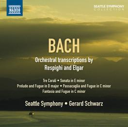 ORCHESTRAL.. SEATTLE S.O./LIKKA TALVI J.S. BACH, CD