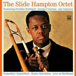 SLIDE HAMPTON OCTET +.. .. UNRELEASED LIVE RECORDINGS SLIDE HAMPTON, CD