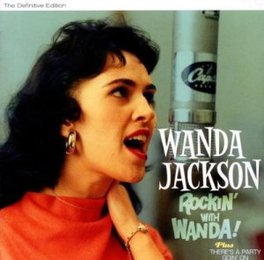 ROCKIN' WITH WANDA/THERE' .. THERE'S A PARTY GOIN' ON WANDA JACKSON, CD