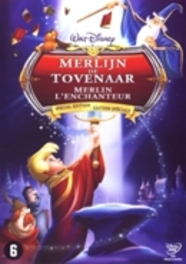 Merlijn de tovenaar, (DVD) BILINGUAL ANIMATION, DVDNL
