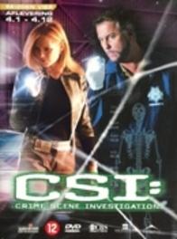Crime Scene Investigation - Seizoen 4 deel 1 (3DVD)