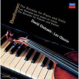 SONATAS FOR PIANO & VIOLI W/DAVID OISTRAKH, LEV OBORIN Audio CD, L. VAN BEETHOVEN, CD