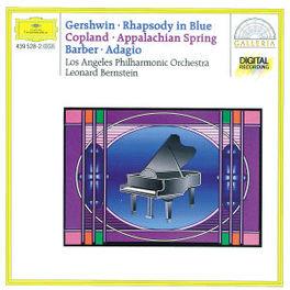 ADAGIO FOR STRINGS ...& RHAPSODY IN BLUE/W/LEONARD BERNSTEIN, COPLAND Audio CD, BARBER/GERSHWIN, CD