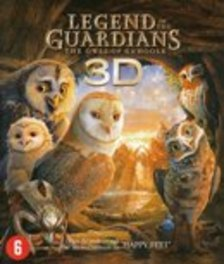 Legend of the guardians - The owls of Ga'Hoole 3D, (Blu-Ray) BILINGUAL - GUARDIANS OF GA'HOOLE // 3D+2D + DIG.COPY MOVIE, BLURAY