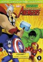 Marvel the avengers - Earth's mightiest heroes 1, (DVD) .. EARTH'S MIGHTIEST HEROES! VOL.1 - PAL/REGION 2. ANIMATION, DVD