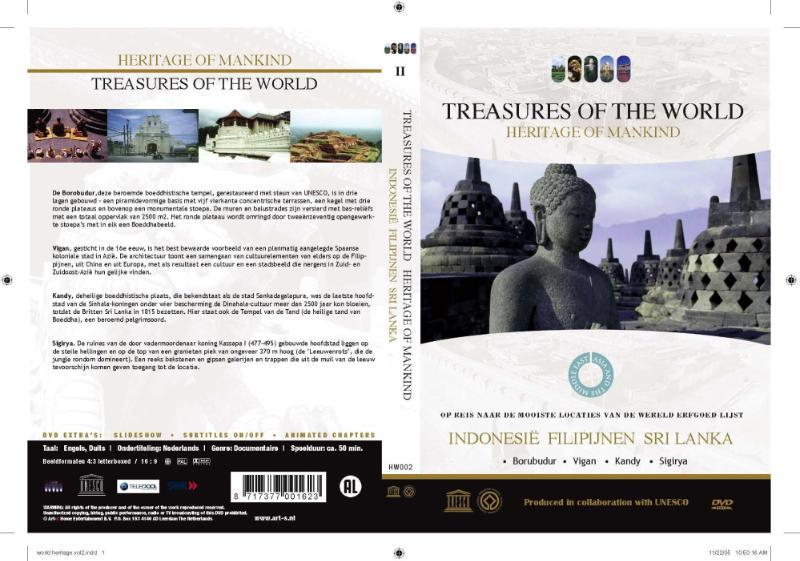 Werelderfgoedlijst Unesco's Azië - Indonesië, Filipijnen & Sri Lanka