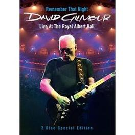 REMEMBER THAT NIGHT  2DVD  07 DVD, DAVID GILMOUR, DVDNL