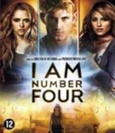 I am number four, (Blu-Ray) BILINGUAL // W/ ALEX PETTYFER, TIMOTHY OLYPHANT MOVIE, BLURAY