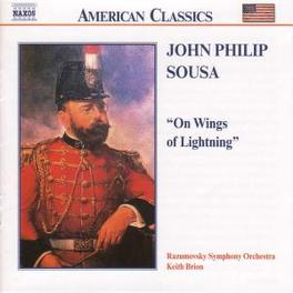ON WINGS OF LIGHTNING VOL J.P. SOUSA, CD