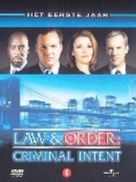 Law & order C.I. - Seizoen 1, (DVD) CAST: KATHRYN ERBE/JAMEY SHIRDAN/VINCENT D'ONOFRIO (DVD), TV SERIES, DVDNL