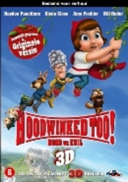 Hoodwinked too, (DVD) SUPERKAPJE // 2D + 3D // PAL/REGION 2 ANIMATION, DVD
