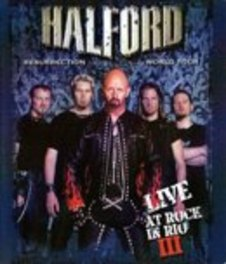 RESURRECTION WORLD TOUR LIVE A .. TOUR//LIVE AT ROCK IN RIO III/+DOCUMENTARY & EXTRA'S DVD, HALFORD, BLURAY