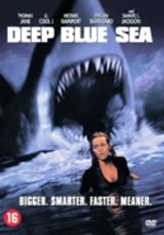 Deep blue sea, (DVD) CAST: SAFFRON BURROWS, SAMUEL L. JACKSON (DVD), MOVIE, DVDNL