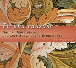 FA UNA CANZONE:ITALIAN DA THE PLAYFORDS G. CACCINI, CD