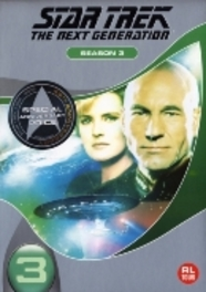 Star trek the next generation - Seizoen 3, (DVD) *REPACKAGE* // BILINGUAL (DVD), TV SERIES, DVDNL