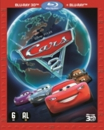Cars 2 (2D+3D), (Blu-Ray) COMBI PACK 2D + 3D BLU-RAY ANIMATION, Blu-Ray