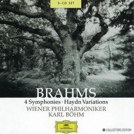 COMPLETE SYMPHONIES WIENER PHILHARMONIKER/KARL BOHM Audio CD, J. BRAHMS, CD