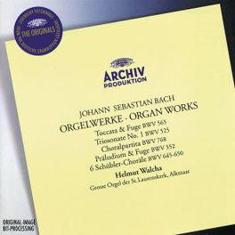ORGAN WORKS HELMUT WALCHA Audio CD, J.S. BACH, CD