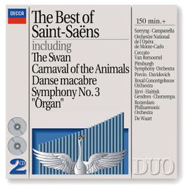 BEST OF SAINT-SAENS H.SZERYNGCHORZEMPA Audio CD, SAINT-SAENS, C., CD