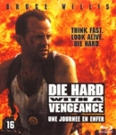 Die hard 3, (Blu-Ray) BILINGUAL // -WITH A VENGEANCE- // W/BRUCE WILLIS MOVIE, BLURAY