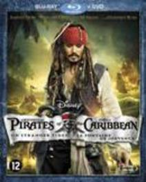 Pirates Of The Caribbean 4: On Stranger Tides (Blu-ray+Dvd Combopack)