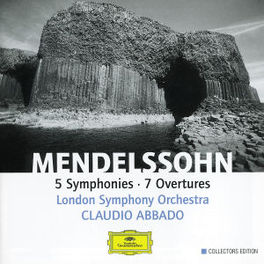 SYMPHONIES & OVERTURES *B LONDON SYM.ORCH./CLAUDIO ABBADO Audio CD, MENDELSSOHN-BARTHOLDY, F., CD