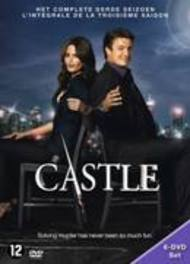 Castle - Seizoen 3, (DVD) BILINGUAL /CAST: NATHAN FILLION, STANA KATIC TV SERIES, DVDNL