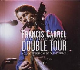 DOUBLE TOUR Audio CD, FRANCIS CABREL, CD