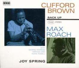 JOY SPRING ...AND MAX ROACH Audio CD, CLIFFORD BROWN, CD