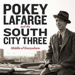 MIDDLE OF EVERYWHERE & RIVER CITY 3/MIDWESTERN COUNTRY BLUES W WESTERN SWING POKEY LAFARGE, Vinyl LP