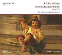 INTAVOLATURA DE CIMBALO REBECCA MAURER Audio CD, VALENTE, CD