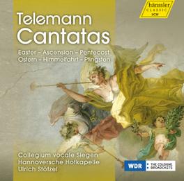 CANTATAS COLLEGIUM VOCALE SIEGEN/HANNOVERSCHE G.P. TELEMANN, CD