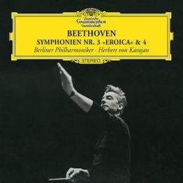 SYMPHONIES NO.3-EROICA & BERLINER PHILHARMONIKER/HERBERT VON KARAJAN Audio CD, L. VAN BEETHOVEN, CD
