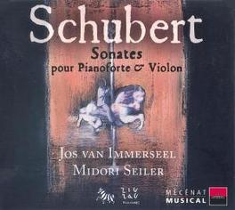 VIOLIN SONATAS /JOS VAN IMMERSEEL/MIDORI C.SEILER Audio CD, F. SCHUBERT, CD