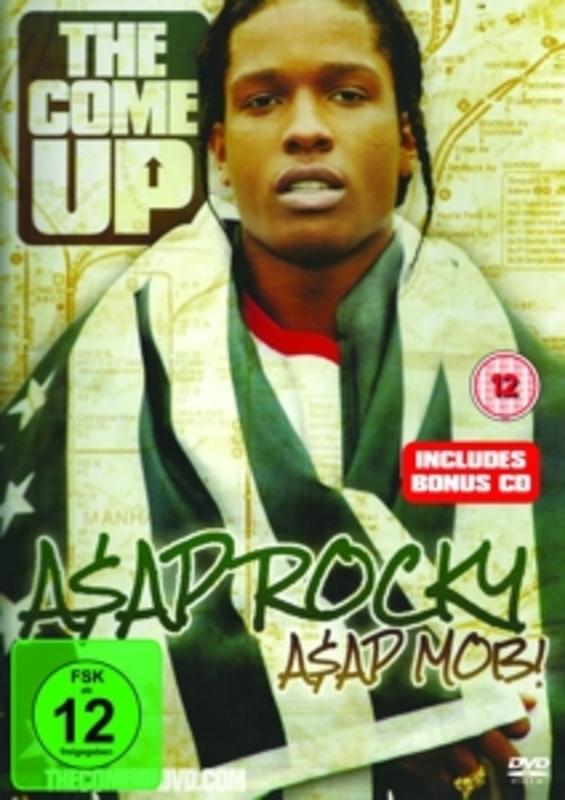 ASAP MOB: THE.. -DVD+CD- .. COME UP ASAP ROCKY, DVD