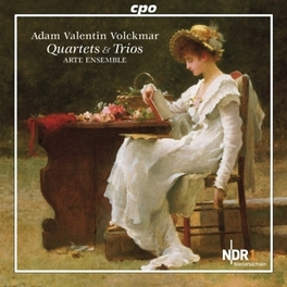 TRIOS & QUARTETS:QUARTET ARTE ENSEMBLE Audio CD, A.V. VOLCKMAR, CD